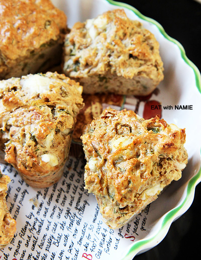 leek-feta-muffin