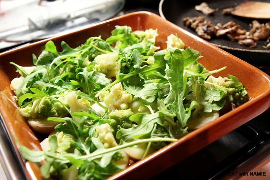 mushroom-brocoli-tatin
