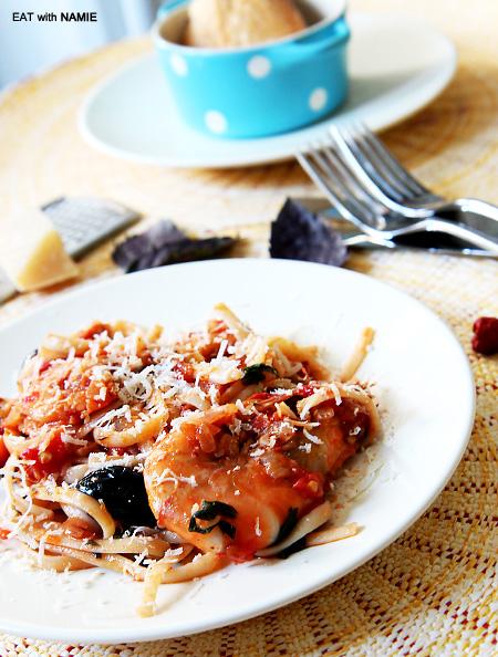 prawn-pasta