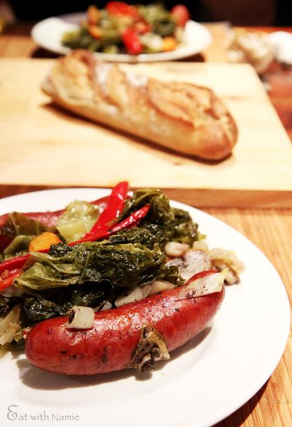 saussage-cabbage-1