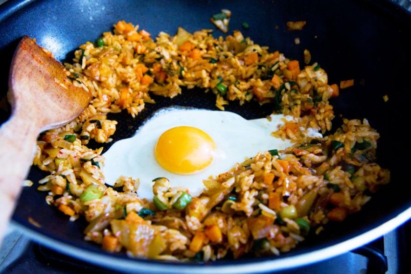 kimchi_rice