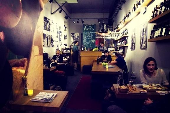 Solera Istanbul wine bar