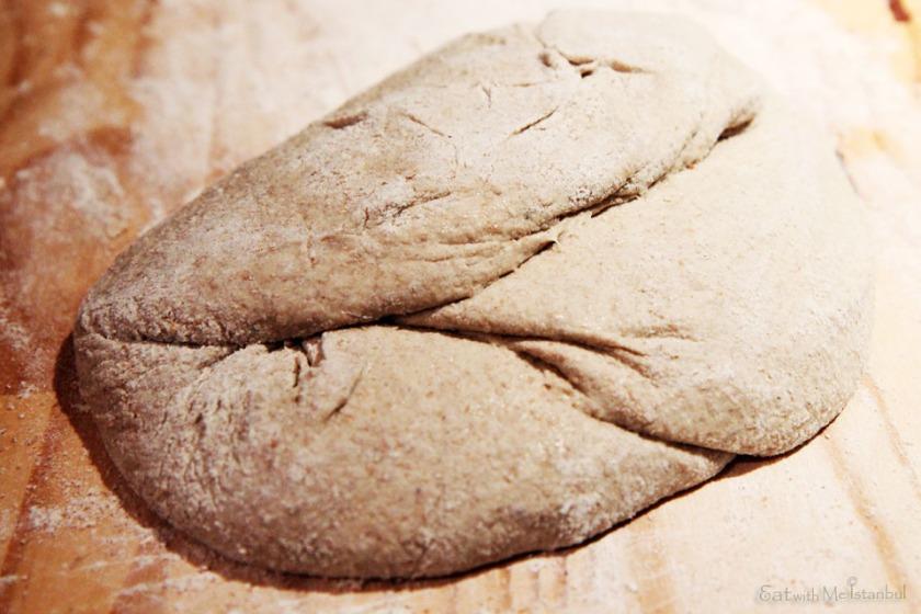 no knead-fold