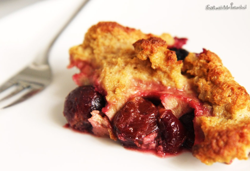 plum bread pudding-3