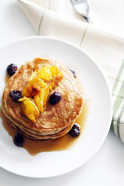 cranberry pancake