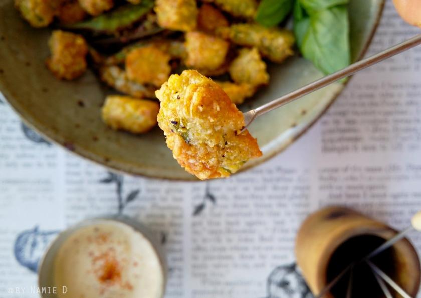 parmesan okra