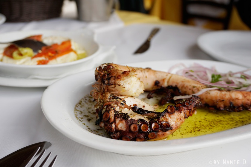 Greek octopus