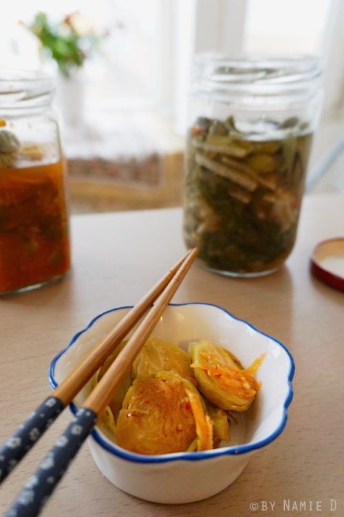 fermented Brussel sprouts