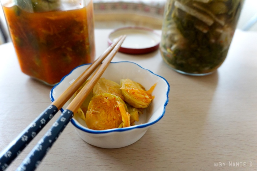 fermented Brussels sprouts