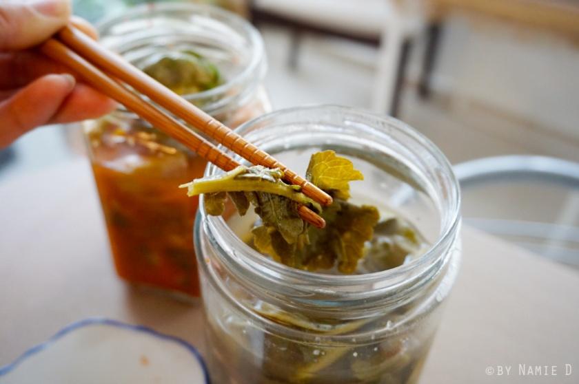 mustard green kimchi